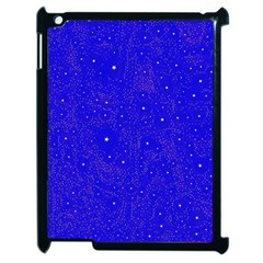 Awesome Allover Stars 01f Apple Ipad 2 Case (black) by MoreColorsinLife