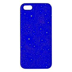 Awesome Allover Stars 01f Iphone 5s/ Se Premium Hardshell Case by MoreColorsinLife