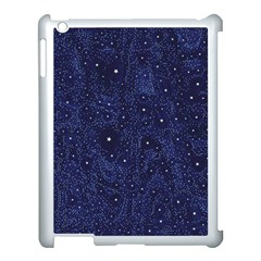 Awesome Allover Stars 01b Apple Ipad 3/4 Case (white) by MoreColorsinLife