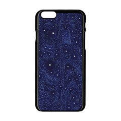 Awesome Allover Stars 01b Apple Iphone 6/6s Black Enamel Case by MoreColorsinLife
