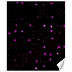 Awesome Allover Stars 02d Canvas 8  X 10  by MoreColorsinLife