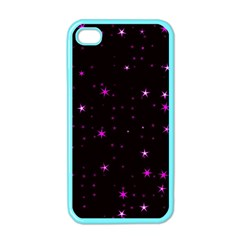 Awesome Allover Stars 02d Apple Iphone 4 Case (color) by MoreColorsinLife