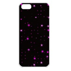 Awesome Allover Stars 02d Apple Iphone 5 Seamless Case (white) by MoreColorsinLife