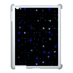 Awesome Allover Stars 02 Apple Ipad 3/4 Case (white) by MoreColorsinLife