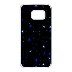 Awesome Allover Stars 02 Samsung Galaxy S7 White Seamless Case by MoreColorsinLife