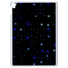 Awesome Allover Stars 02 Apple Ipad Pro 9 7   White Seamless Case by MoreColorsinLife