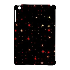Awesome Allover Stars 02b Apple Ipad Mini Hardshell Case (compatible With Smart Cover) by MoreColorsinLife