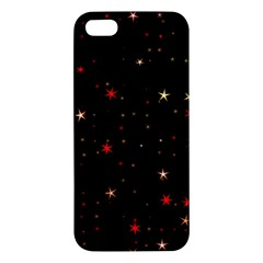 Awesome Allover Stars 02b Iphone 5s/ Se Premium Hardshell Case by MoreColorsinLife