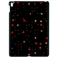 Awesome Allover Stars 02b Apple iPad Pro 9.7   Black Seamless Case by MoreColorsinLife