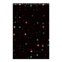Awesome Allover Stars 02f Shower Curtain 48  X 72  (small)  by MoreColorsinLife