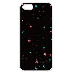 Awesome Allover Stars 02f Apple Iphone 5 Seamless Case (white) by MoreColorsinLife
