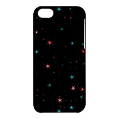 Awesome Allover Stars 02f Apple Iphone 5c Hardshell Case by MoreColorsinLife