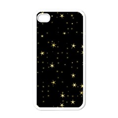 Awesome Allover Stars 02a Apple Iphone 4 Case (white) by MoreColorsinLife