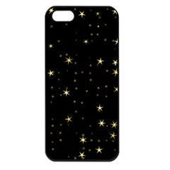 Awesome Allover Stars 02a Apple Iphone 5 Seamless Case (black) by MoreColorsinLife