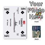 Naval War - Ship Deck - Playing Cards 54 Designs