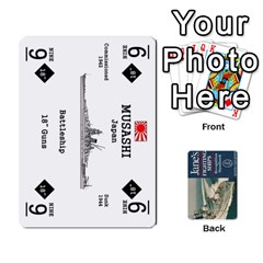 Naval War   Ship Deck By Fccdad   Playing Cards 54 Designs   Ri0h54yyf0qn   Www Artscow Com Front - Diamond4