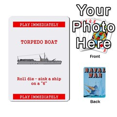 Naval War Deck 2a By Fccdad   Playing Cards 54 Designs   D84gc2q7m85r   Www Artscow Com Front - Spade3