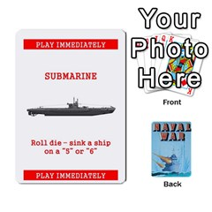 Naval War Deck 2a By Fccdad   Playing Cards 54 Designs   D84gc2q7m85r   Www Artscow Com Front - Spade5