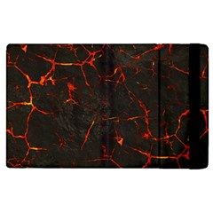 Volcanic Textures Apple Ipad 2 Flip Case by BangZart