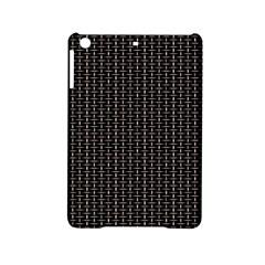 Dark Black Mesh Patterns Ipad Mini 2 Hardshell Cases by BangZart