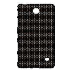 Dark Black Mesh Patterns Samsung Galaxy Tab 4 (7 ) Hardshell Case  by BangZart