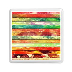 Stripes Color Oil Memory Card Reader (square)