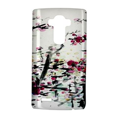 Pink Flower Ink Painting Art Lg G4 Hardshell Case by BangZart