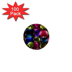 Stained Glass 1  Mini Buttons (100 Pack)  by BangZart