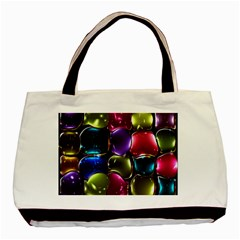 Stained Glass Basic Tote Bag by BangZart