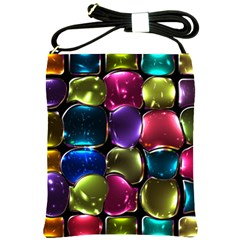 Stained Glass Shoulder Sling Bags by BangZart
