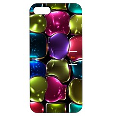 Stained Glass Apple Iphone 5 Hardshell Case With Stand by BangZart