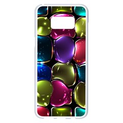 Stained Glass Samsung Galaxy S8 Plus White Seamless Case