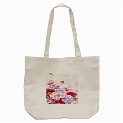 Sweet Flowers Tote Bag (cream) by BangZart