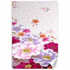 Sweet Flowers Canvas 12  X 18   by BangZart