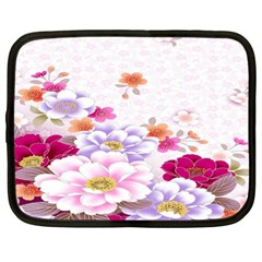 Sweet Flowers Netbook Case (xl)  by BangZart