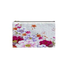 Sweet Flowers Cosmetic Bag (small)  by BangZart