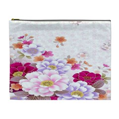 Sweet Flowers Cosmetic Bag (xl) by BangZart
