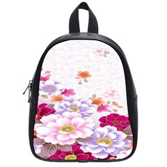 Sweet Flowers School Bags (small)  by BangZart