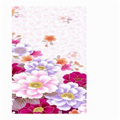 Sweet Flowers Small Garden Flag (two Sides) by BangZart