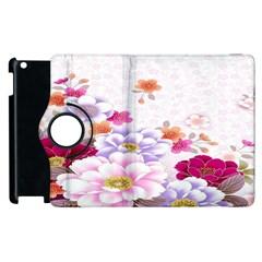 Sweet Flowers Apple Ipad 3/4 Flip 360 Case by BangZart