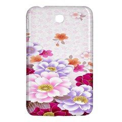 Sweet Flowers Samsung Galaxy Tab 3 (7 ) P3200 Hardshell Case  by BangZart