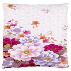 Sweet Flowers Standard Flano Cushion Case (one Side) by BangZart