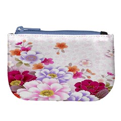 Sweet Flowers Large Coin Purse by BangZart