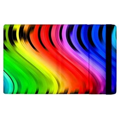 Colorful Vertical Lines Apple Ipad 2 Flip Case by BangZart