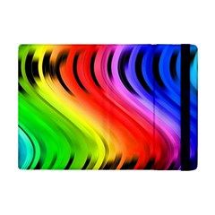 Colorful Vertical Lines Ipad Mini 2 Flip Cases by BangZart