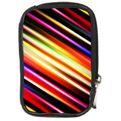 Funky Color Lines Compact Camera Cases by BangZart