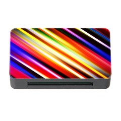 Funky Color Lines Memory Card Reader With Cf by BangZart