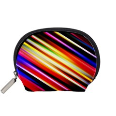 Funky Color Lines Accessory Pouches (small)