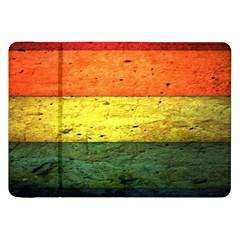 Five Wall Colour Samsung Galaxy Tab 8 9  P7300 Flip Case by BangZart
