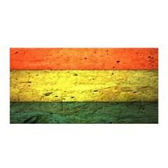 Five Wall Colour Satin Wrap by BangZart